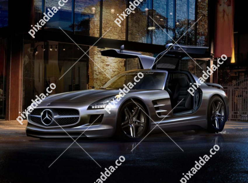 Mercedes CB Picsart Photo Editing Background