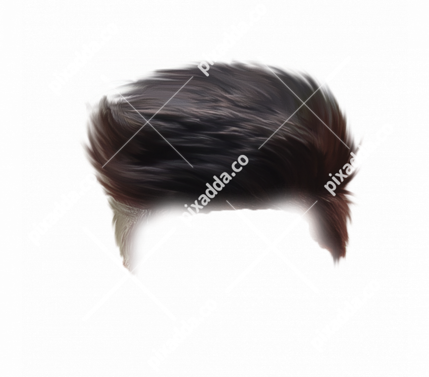 Stylish Men Hair PNG For Picsart Photo Editing 3