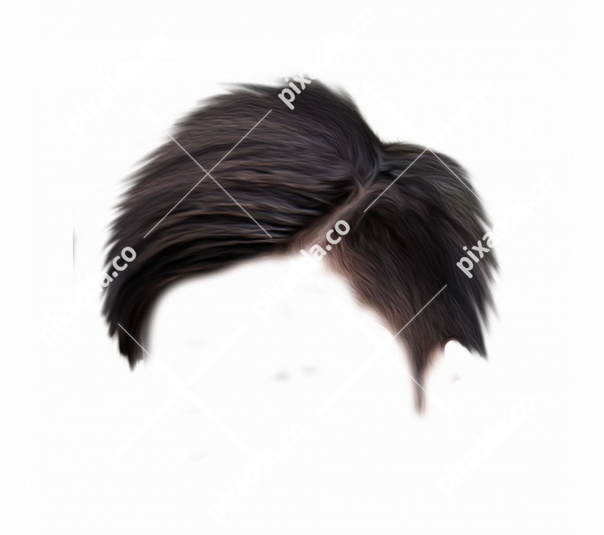 Stylish Men Hair PNG For Picsart Photo Editing 2