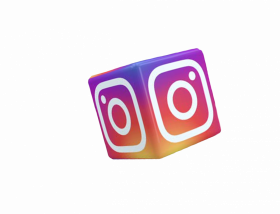 3d logo instagram logo png for picsart photo editing