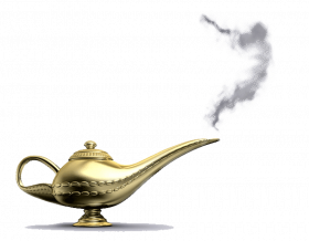 Aladdin Lamp PNG Picture