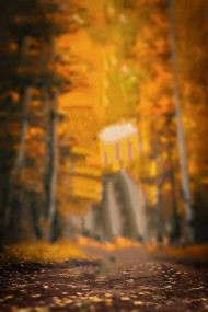 Autumn background for Picsart Editing