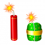 bomb and cracker png transparent image