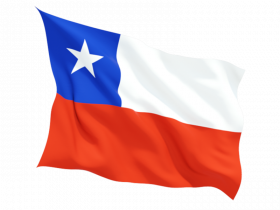 Chile Flag PNG Clipart