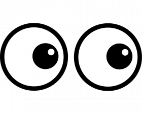 Expression Cartoon Eyes PNG Transparent Picture