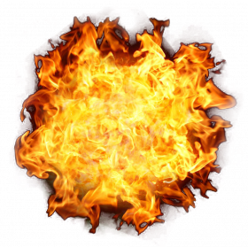 Fire Exlosion PNG Transparent Image