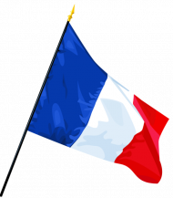 France Flag PNG File