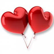Heart Balloon PNG Free Download
