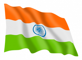 India Flag Free Download PNG
