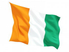 Ivory Coast Flag PNG Clipart