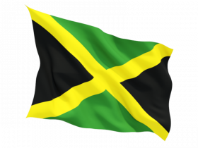 Jamaica Flag Free PNG Image