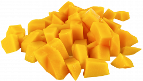 mango pieces