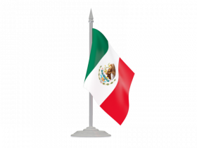 Mexico Flag Free PNG Image