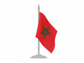 Morocco Flag Free Download PNG