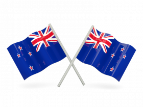 New Zealand Flag Transparent