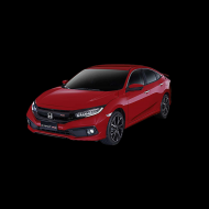 red civic hd png download