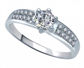 Silver Ring PNG HD