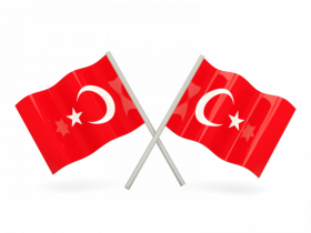 Turkey Flag PNG Clipart
