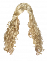 Women Blonde Hair Transparent PNG